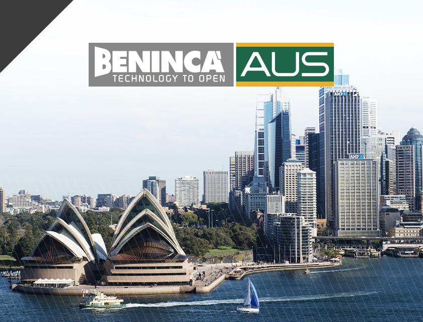Il gruppo Benincà cresce e inaugura la nuova filiale di Sydney