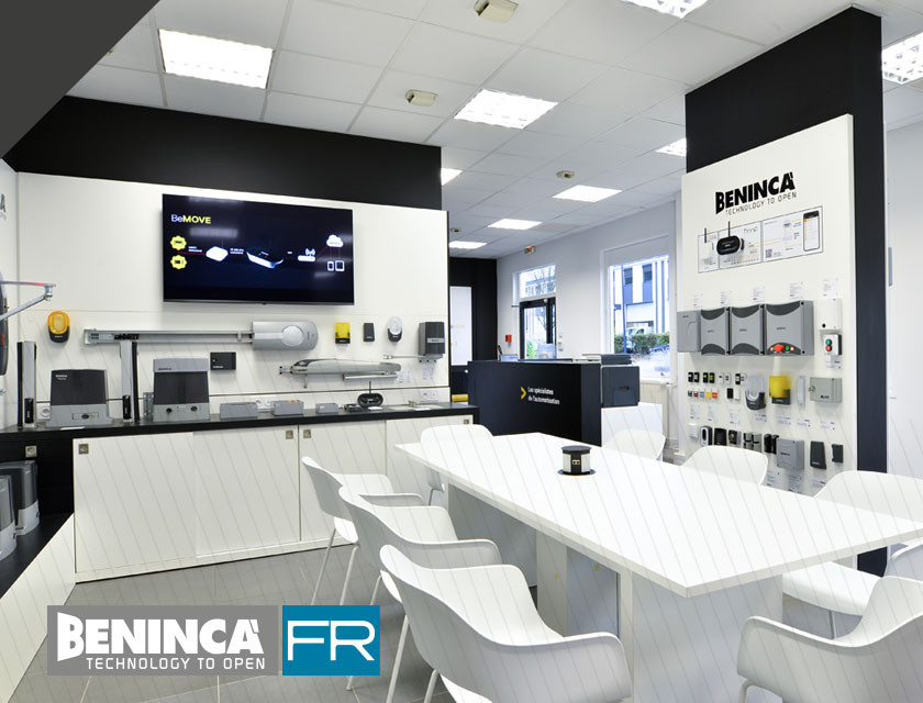 Benincà France und der Pariser Showroom